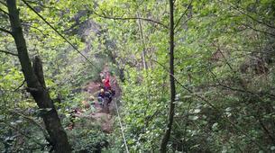 Via Ferrata-Costa Brava-Family via ferrata Gorges de Salenys in Girona-6