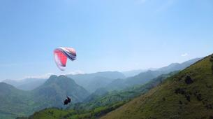 Paragliding-Biscay-Tandem Paragliding from Sopelana in Bilbao-1