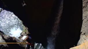 Canyoning-Núria-Canyoning dans le Canyon Inférieur de Nuria, Vallée de Nuria-1