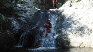 Canyoning-Céret-Canyoning the Les Anelles canyon in Ceret-12