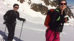 Backcountry snowboarding-Chamonix Mont-Blanc-Splitboard initiation in Chamonix-1