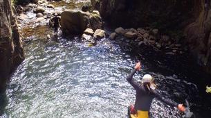 Canyoning-Núria-Canyoning dans le Canyon Inférieur de Nuria, Vallée de Nuria-6