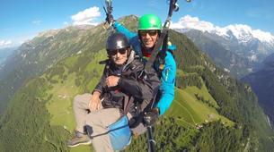 Paragliding-Interlaken-Tandem paragliding flight over Interlaken-4