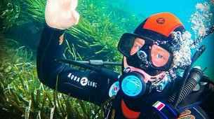 Scuba Diving-Malta-PADI Open Water Diver course near Blue Lagoon, Malta-1