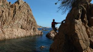 Via Ferrata-Girona-Via ferrata Cala del Moli in Costa Brava-6