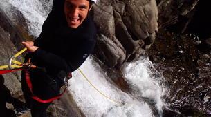 Canyoning-Núria-Canyoning dans le Canyon Inférieur de Nuria, Vallée de Nuria-4