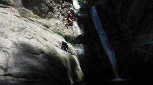 Canyoning-Céret-Canyoning the Les Anelles canyon in Ceret-7