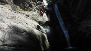 Canyoning-Girona-Canyoning at Les Anelles canyon in Girona-7