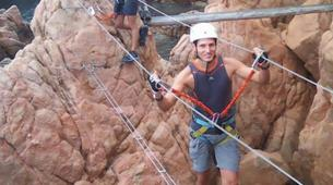 Via Ferrata-Girona-Via ferrata Cala del Moli in Costa Brava-7