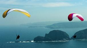 Paragliding-Biscay-Tandem Paragliding from Sopelana in Bilbao-5