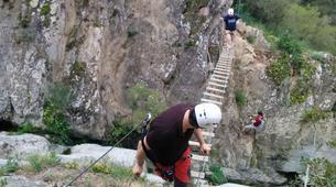 Via Ferrata-Costa Brava-Family via ferrata Gorges de Salenys in Girona-4