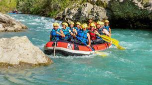 Rafting-Gorges du Verdon-Descente en Rafting dans les Gorges du Verdon-5