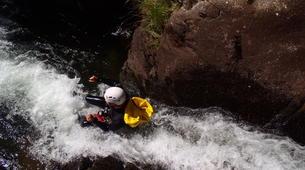 Canyoning-Núria-Canyoning dans le Canyon Inférieur de Nuria, Vallée de Nuria-3