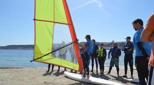 Windsurfing-Malta-Windsurfing taster lesson in Mellieha Bay, Malta-5