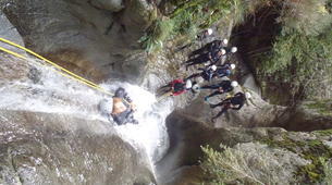 Canyoning-Núria-Canyoning au Canyon de Salt del Grill Canyon à Nuria-3
