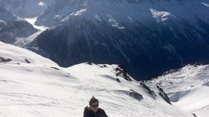 Backcountry snowboarding-Chamonix Mont-Blanc-Splitboard initiation in Chamonix-3