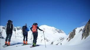 Ski touring-Aneto-Ski touring in the Aneto at 3,404 m.-1