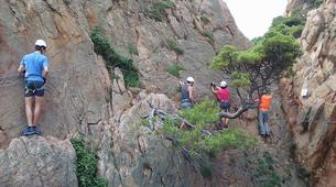 Via Ferrata-Girona-Via ferrata Cala del Moli in Costa Brava-14