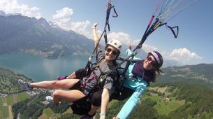 Paragliding-Interlaken-Tandem paragliding flight over Interlaken-7