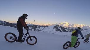 VTT-Megève, Evasion Mont Blanc-Randonnée Fat Bike et Fat Trotinette à La Giettaz, Val d'Arly-7