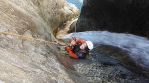 Canyoning-Céret-Canyoning the Les Anelles canyon in Ceret-1