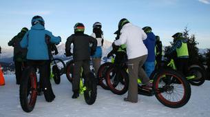 VTT-Megève, Evasion Mont Blanc-Randonnée Fat Bike et Fat Trotinette à La Giettaz, Val d'Arly-2