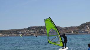 Windsurfing-Malta-Windsurfing taster lesson in Mellieha Bay, Malta-6