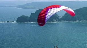Paragliding-Biscay-Tandem Paragliding from Sopelana in Bilbao-6