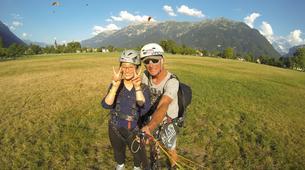 Paragliding-Interlaken-Tandem paragliding flight over Interlaken-6
