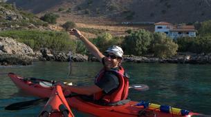 Sea Kayaking-Rethymno-Sea kayak excursion in Sfakia near Rethimno, Crete-6