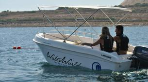 Jet Boating-Malta-Power boating excursion in Blue Lagoon, Malta-5