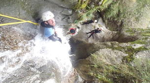 Canyoning-Núria-Canyoning au Canyon de Salt del Grill Canyon à Nuria-1