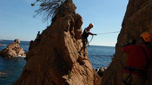 Via Ferrata-Girona-Via ferrata Cala del Moli in Costa Brava-4