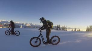VTT-Megève, Evasion Mont Blanc-Randonnée Fat Bike et Fat Trotinette à La Giettaz, Val d'Arly-8