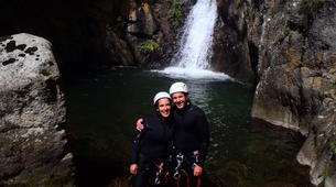 Canyoning-Núria-Canyoning dans le Canyon Inférieur de Nuria, Vallée de Nuria-2