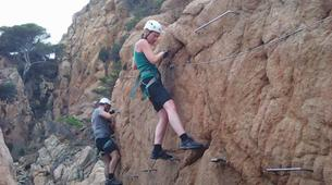 Via Ferrata-Girona-Via ferrata Cala del Moli in Costa Brava-9