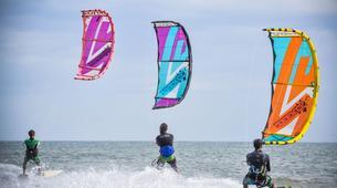 Kitesurfing-Praia do Guincho-Intermediate to advanced kitesurfing lesson on Praia do Guincho, near Lisbon-6