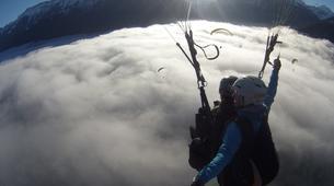 Paragliding-Interlaken-Tandem paragliding flight over Interlaken-5