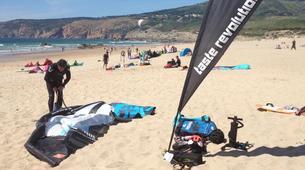 Kitesurf-Praia do Guincho-Beginner kitesurfing lessons on Praia do Guincho, near Lisbon-6