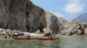 Sea Kayaking-Rethymno-Sea kayak excursion in Bali near Rethimno, Crete-1