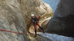 Canyoning-Céret-Canyoning the Les Anelles canyon in Ceret-6