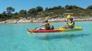 Sea Kayaking-Chalkidiki-Sea kayak excursions in Halkidiki-1