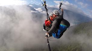 Paragliding-Interlaken-Tandem paragliding flight over Interlaken-11