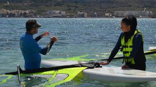 Windsurfing-Malta-Windsurfing taster lesson in Mellieha Bay, Malta-2