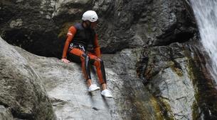 Canyoning-Girona-Canyoning at Les Anelles canyon in Girona-4
