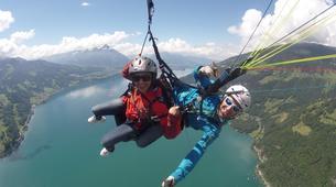Paragliding-Interlaken-Tandem paragliding flight over Interlaken-1