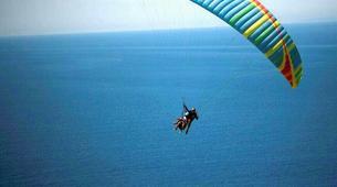 Paragliding-Lefkada-Paragliding flight over Kathisma beach, Lefkada-4