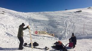Backcountry snowboarding-Chamonix Mont-Blanc-Splitboard initiation in Chamonix-2