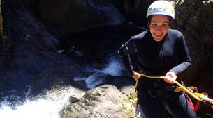 Canyoning-Núria-Canyoning dans le Canyon Inférieur de Nuria, Vallée de Nuria-5