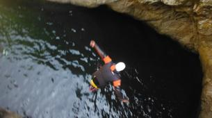 Canyoning-Céret-Canyoning the Les Anelles canyon in Ceret-2